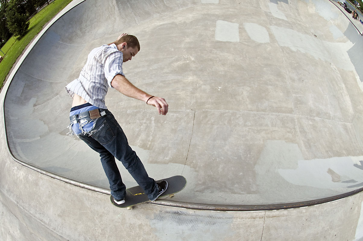 Shane Bell - BS Smith (top view) @ Pier Park