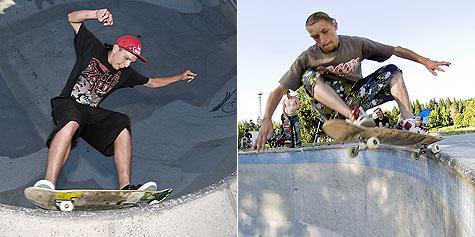 Xavier and David @ Pier Park
