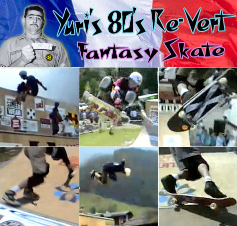 Yuri's 80's Re-Vert Fantasy Skate - Grand Bornand 1991