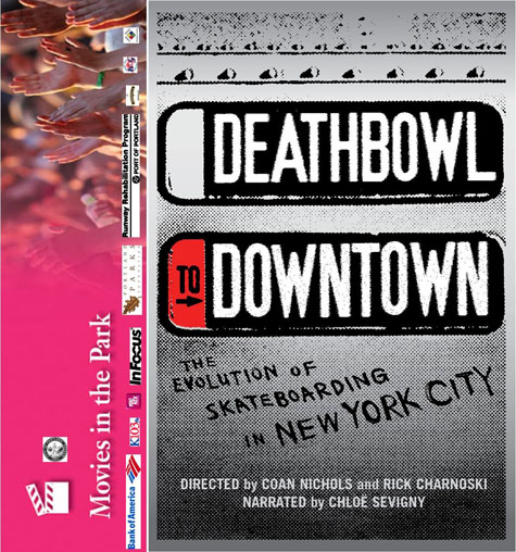 Deathbowl to Downtown - Movie in the Park @ Glenhaven Skate Park