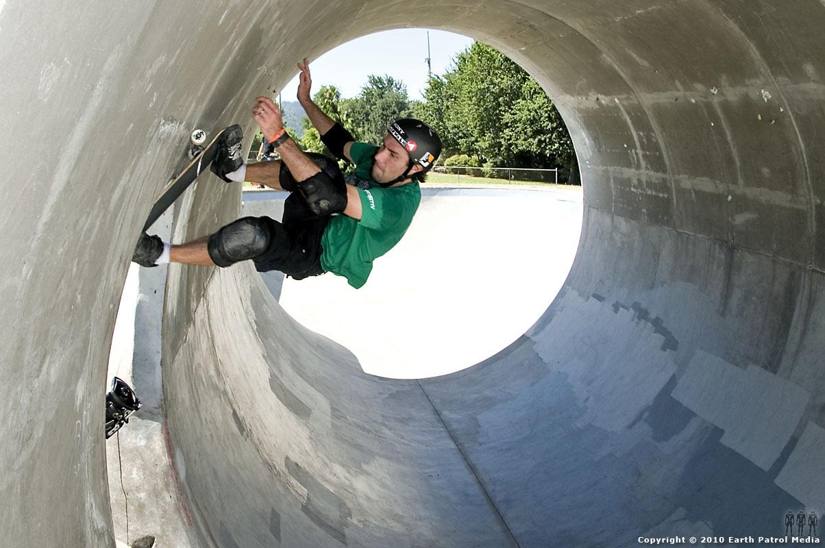 Andy MacDonald - Doorway Lip Slide @ Pier Park