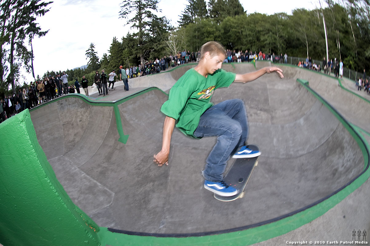 Greyson Fletcher - Ollie to Pocket @ Lincoln City