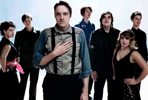 Arcade Fire on Earth Patrol