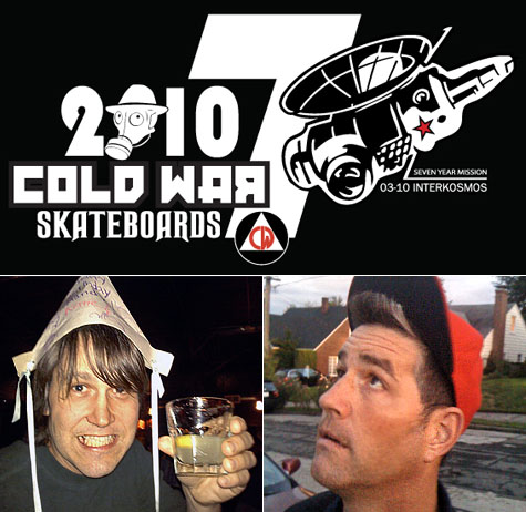 Cold War Skateboards 2010 Board Release Party