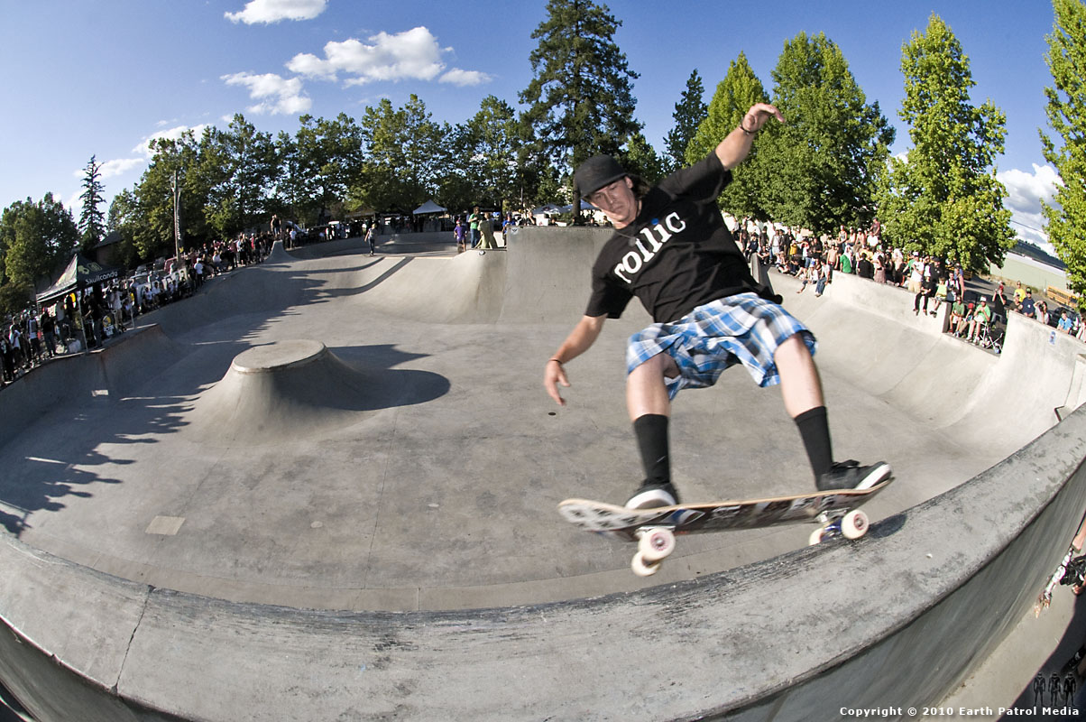 Jamie Jacobson - FS Grind Bank Wall @ Tigard