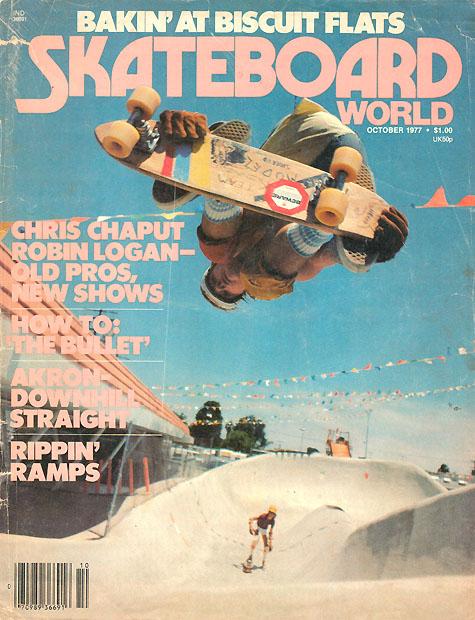 Shreddi Repas - Skateboard World Cover; Double Grab BS Air @ Skatercross
