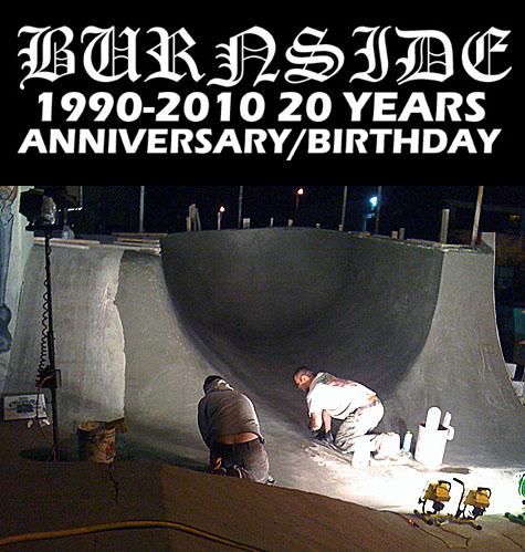 20 Year Anniversary - Burnside Skate Park