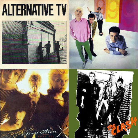Alternative TV, 999, The Clash, Generation X on Earth Patrol