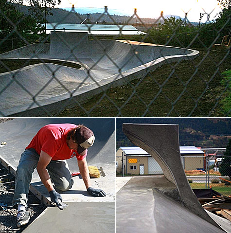 Bingen, Washington Skate Park - Photos: Carl Warren