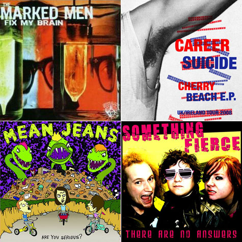 Marked Men, Career Suicide, Mean Jeans, Spits, Something Fierce, White Wires on Earth Patrol