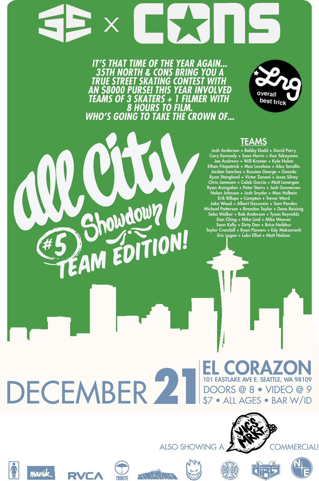 All City Showdown #5 -Team Edition - Seattle