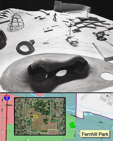 Support Fernhill Park Skatepark - Design Inspirations: Isamu Noguchi