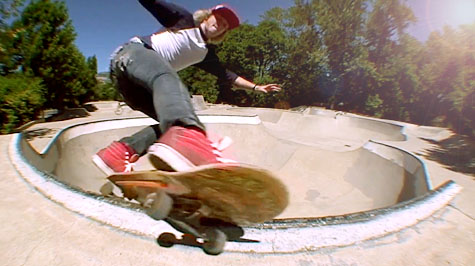 Tyler - Feeble to Fakie @ Ashland