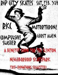 Kenton Skatepark Fundraiser - Flier 3