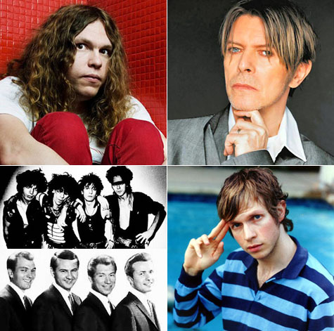 Jay Reatard, David Bowie, Beck, Lords of the New Church, and Sonny Curtis and the Crickets on Earth Patrol