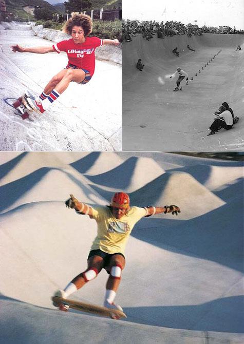 Tony Alva @ Wallos(upper left) and Henry Hester @ Carlsbad(bottom)