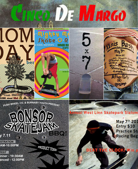 Mother's Day Weekend Skate Socials