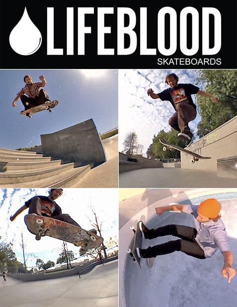 Scott Koerner - Lifeblood Skateboards Ambassador on Earth Patrol