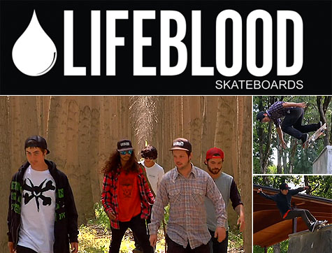 Scourge of the Gorge Tour Video - Lifeblood Skateboards