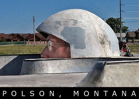 Polson, Montana Skatepark on Earth Patrol