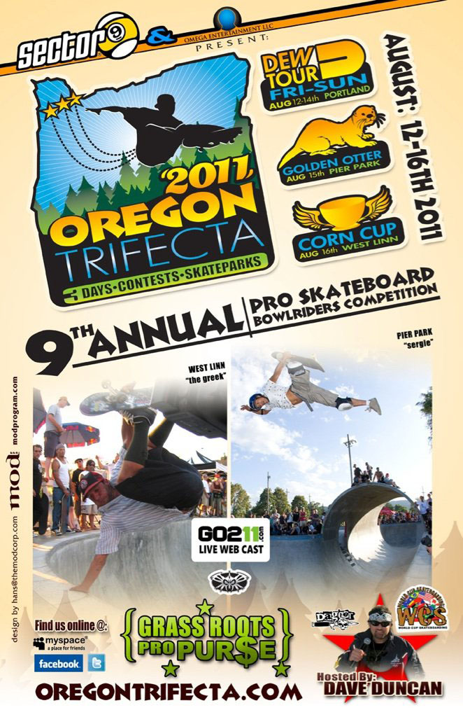 2011 Oregon Trifecta Flier on Earth Patrol