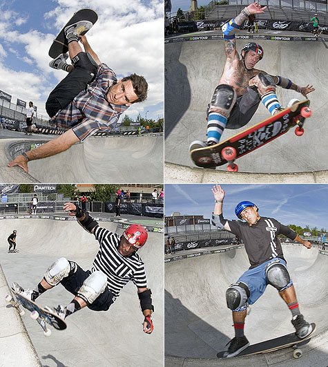 Skate Legends at the Portland Dew Tour on Earth Patrol