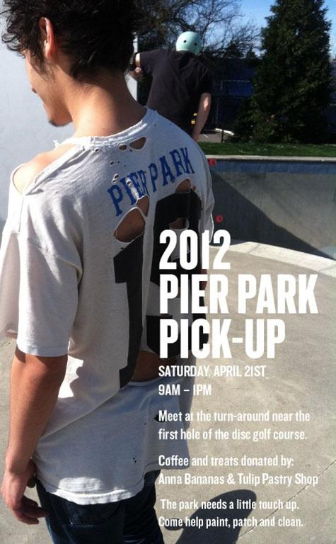 2012 Pier Park Cleanup Flier