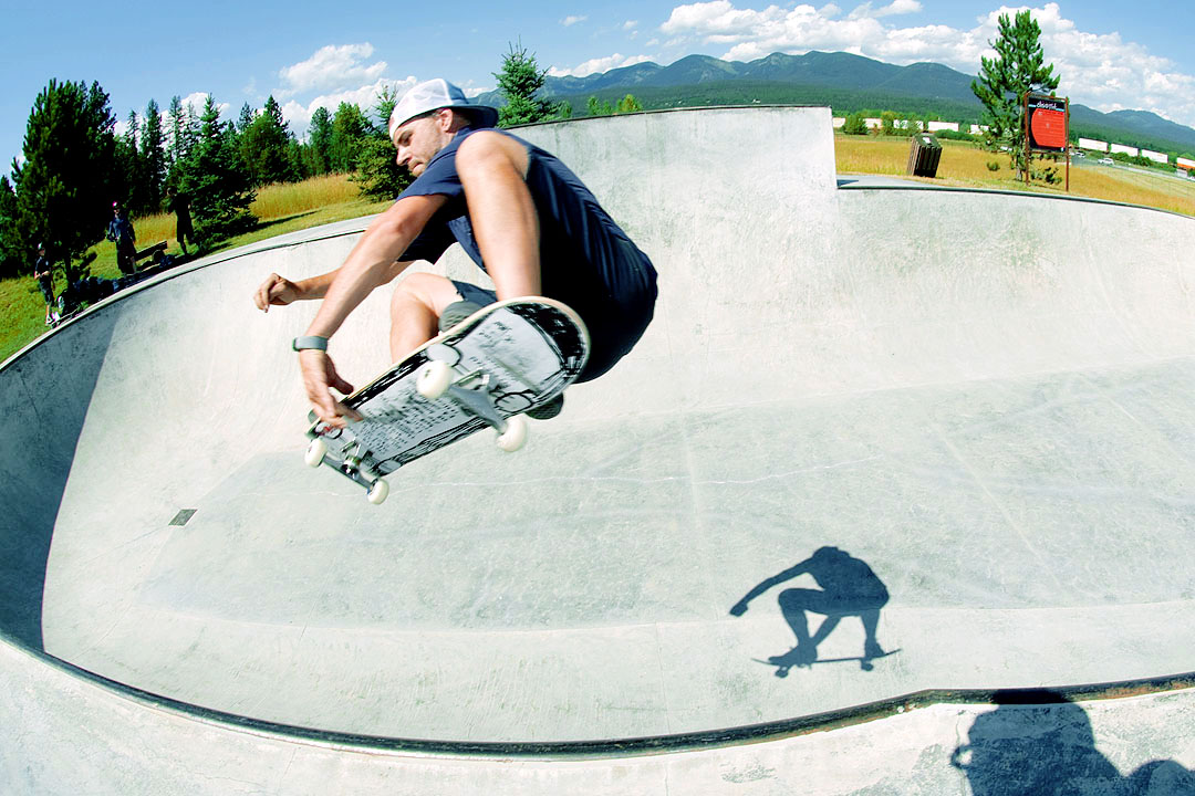 Jason Lytle - Frontside Air @ Whitefish Skatepark