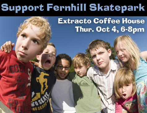 Support Fernhill Skatepark - Buy some art at Extracto