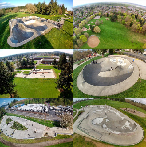 Portland Skateparks on Earth Patrol - Courtesy of HooperFly