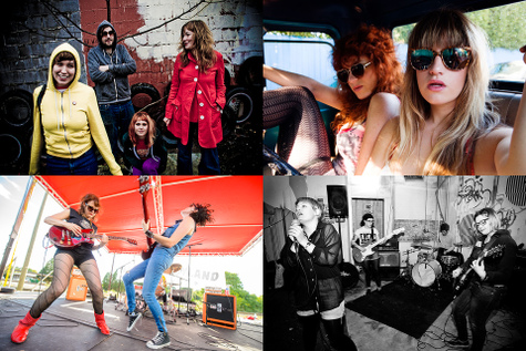 YouTube Tuesday 2014-12-30: Tacocat, Deap Vally, Ex-Hex, Good Throb, The Saints