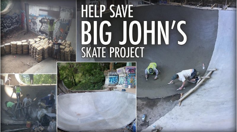 Save Big Johns Skate Project